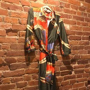 Zara silk dress, size small, never worn